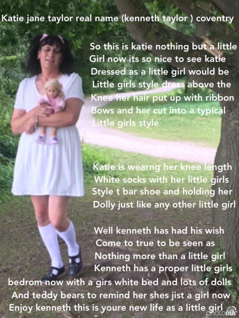 little girl undone