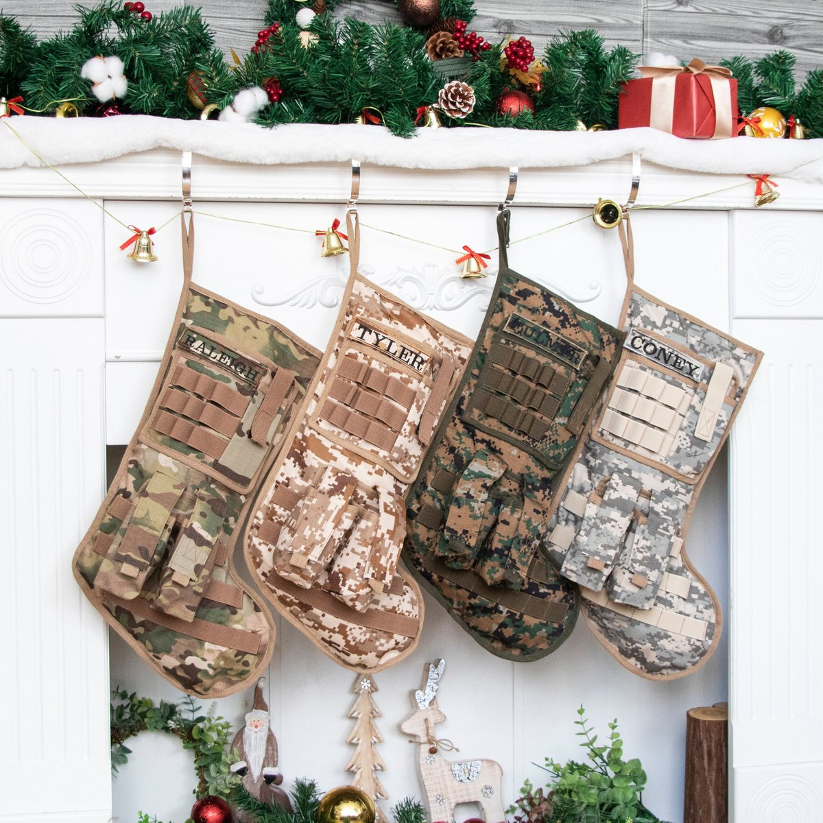 Tactical Christmas stocking for tactical enthusiast or camo lovers !!!  #homedecor #christmasdecor #christmasgift #christmas #camouflage #camo #military #motherofboys #tactical #usmc #usarmy #holidaygift https://etsy.me/31L1Cno pic.twitter.com/guAwvWgz38