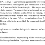 Image for the Tweet beginning: Statement from U.S. Secret Service