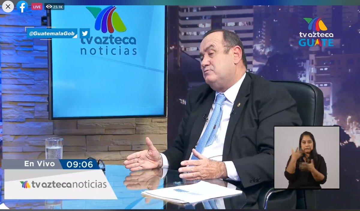 test Twitter Media - Sobre el cambio del Embajador de Estados Unidos, el Presidente manifestó que, espera que la relación entre Guatemala y EE.UU., se fortalezca. https://t.co/V5ANfoUQ9u
