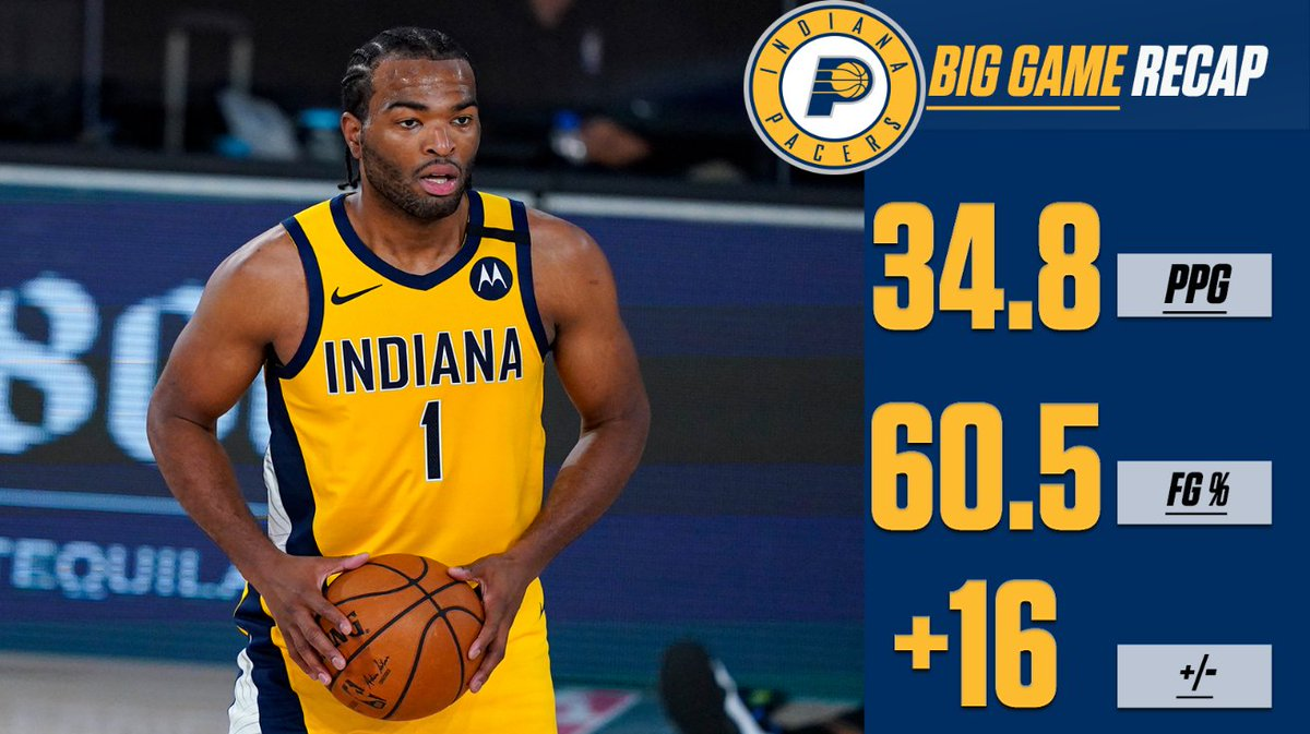 TJ Warren has been a BEAST in the bubble! #IndianaStyle