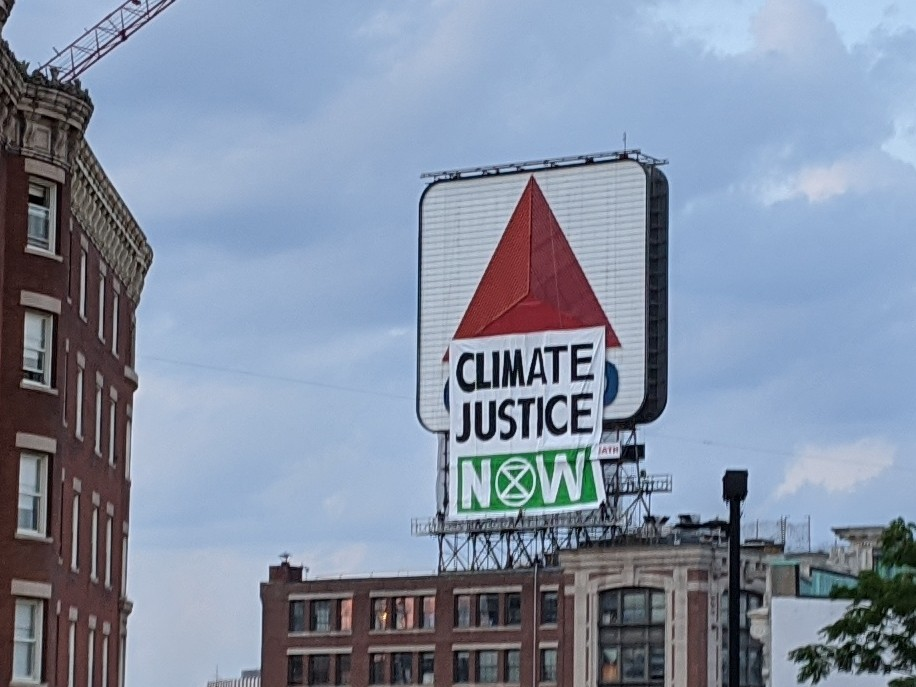 Tell the truth about the climate crisis, enact binding policies to reach net-zero emissions by 2025, create a Citizens Assembly to oversee the changes, and prioritize the most vulnerable communities #ExtinctionRebellion #ClimateJusticeNow @massgovernor