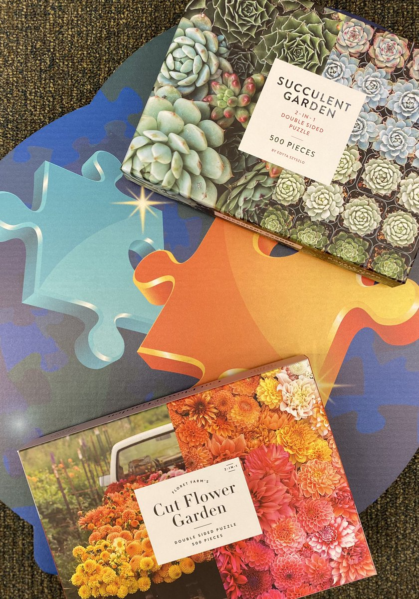 Need a #challenge for your #quarantinebrain? Try one of our #doublesided #puzzles! #doublesidedpuzzle #jigsawpuzzles #puzzle #visitabookstore #shoplocal #sacramento #natomas https://t.co/P84GV6h3JC