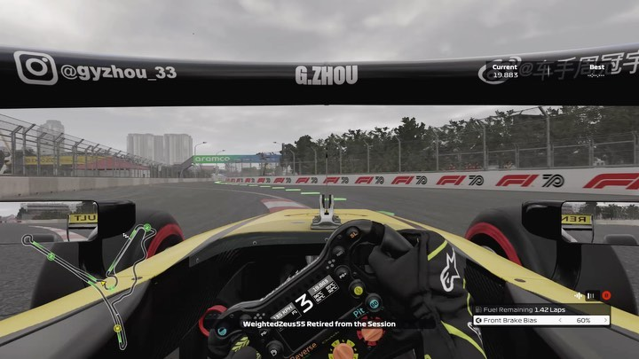 SSR zip putting it on pole during the first round of the SSR F2 cup at Hanoi circuit.   safespaceracing #f12020game #f1 #f1game #formula1 #formula #formulaone #racing #racingcars #mexico #overtake #alfaromeo #richardmille #drs #gaming #f1fans #scenario7 #f2 https://t.co/0KOfiwFMBT