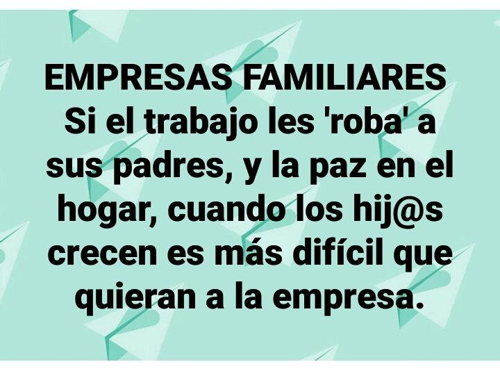 #EmpresaFamiliar #Pymes https://t.co/9Fqm5b5x9V