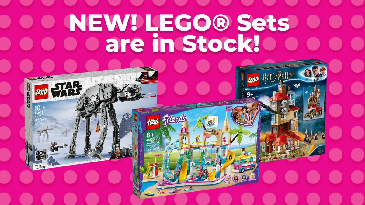 New LEGO® sets are in-stock! https://t.co/gW3LW21rWx #Lego #LegoSets #JrToyCompany https://t.co/wzkzbi9OMZ