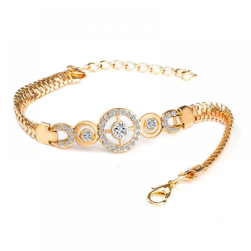 #bling #glitter Gold Crystal Chain Bracelets for Women pic.twitter.com/W5IT5M7GMu