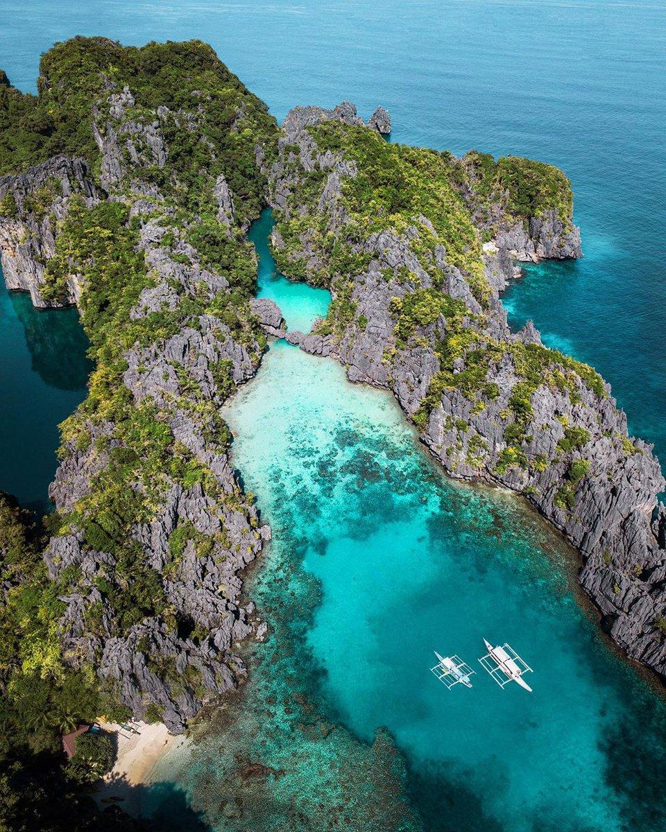 An absolute paradise!  .  Small Lagoon, El Nido . . . #placetovisit #livefolk #eclectic_shotz #travelblog #artofvisuals #lifeofadventure #travelcommunity #earthpix #tourtheplane #elementsofwild #thegreatoutdoors #visualambassadorspic.twitter.com/0xLizuUjM5