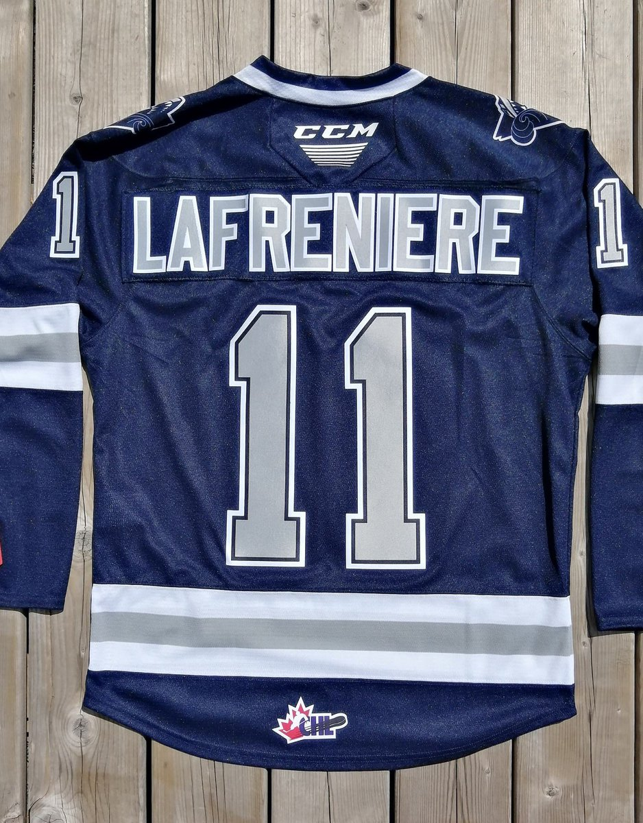 LAFRENIÈRE GIVEAWAY!  In celebration of the Rangers winning the 1st OVR pick, we're giving away a choice of a home OR away Alexis Lafrenière @oceanicrimouski jersey!  RULES:  1.  Like & RT 2. Follow @TheJerseyFinder 3. Tag 2 friends   Draw on 8/17. Good luck! #NYR #HockeyTwitter https://t.co/5UndXdLb3P