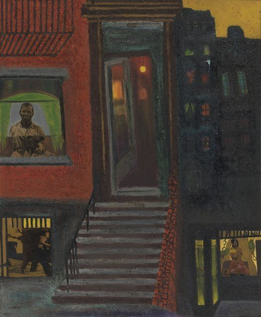 UNTITLED (BROWNSTONE STAIRS), Vincent Smith, 1968