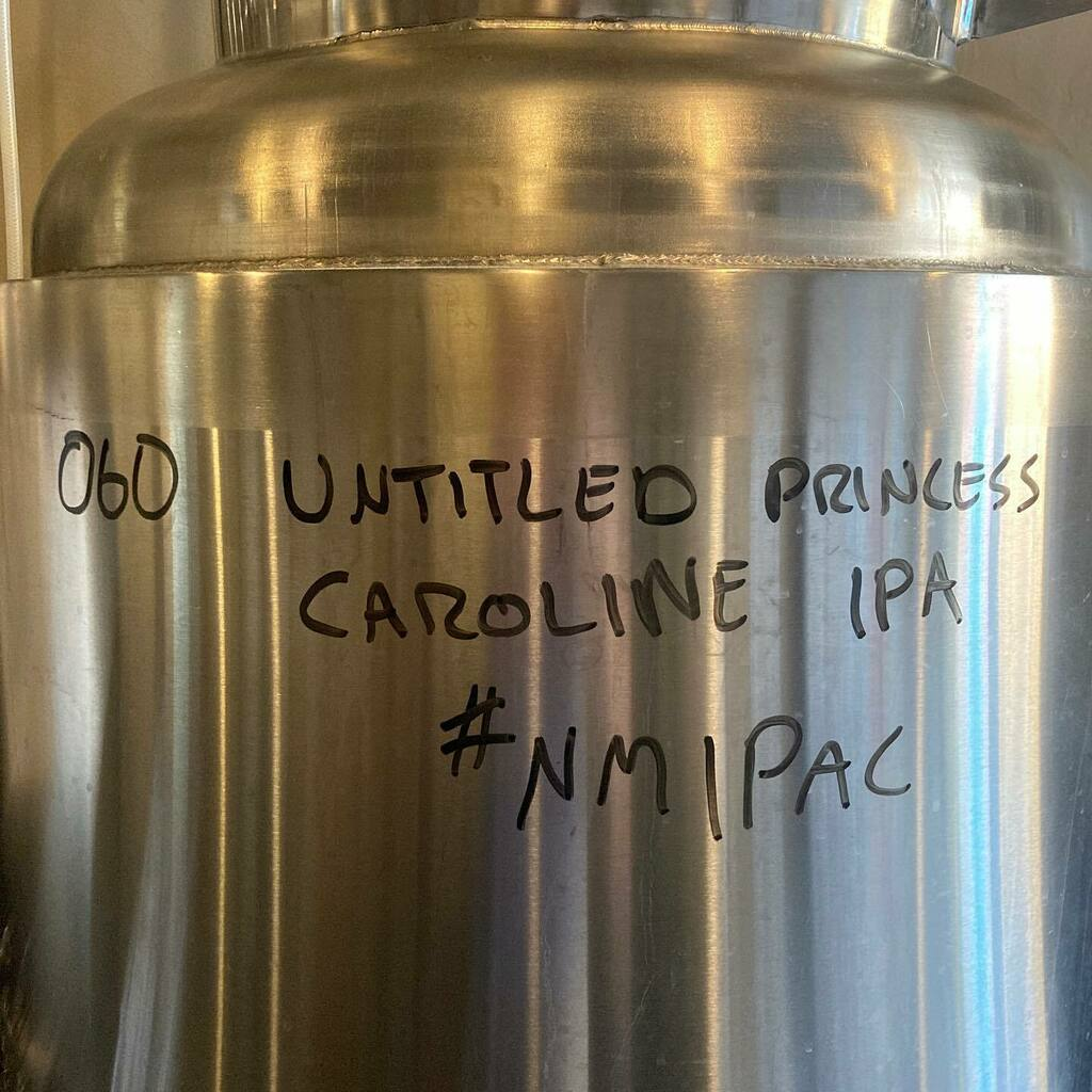 Untitled Princess Caroline IPA (not the actual name) @thirstyeyebrew entry for NM IPA Challenge 2020. A fun code name for our first go at a fun event by @nmbrewersguild . #nmipac #nmipachallenge2020 #nmbeer #abqbeer https://t.co/wXBPXaBNvb https://t.co/08JOmsF3Ht