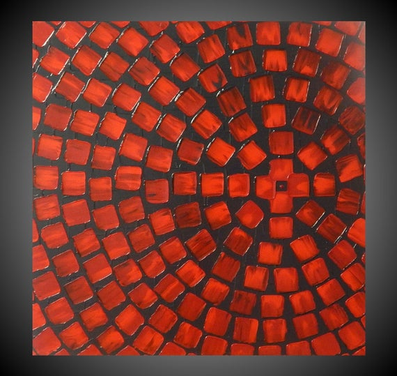 Red and Grey Painting on Canvas wall art Abstract https://etsy.me/31BLPXK  #painting #art #paintings #acrylicpainting #canvasart pic.twitter.com/f5Req08Bui