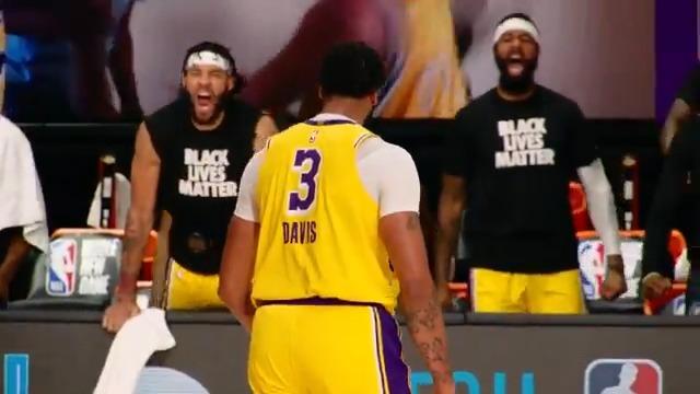 ANTHONY. DAVIS. 🔥🔨  #PhantomCam #NBAnoSporTV  https://t.co/k6Yi6xbuNN