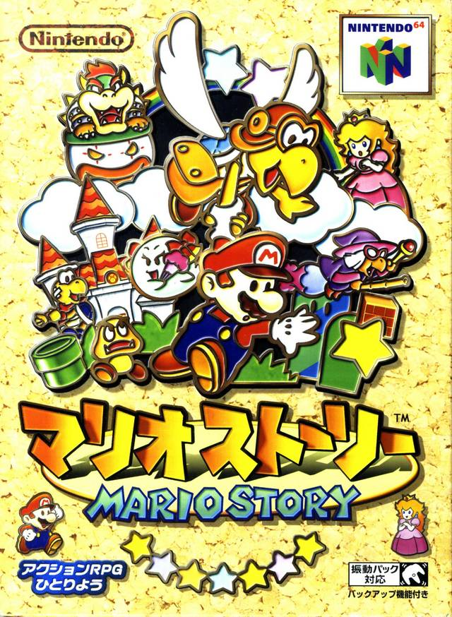 Paper Mario originally released on this date in 2000 in Japan, where it is known as Mario Story. A unique follow-up to Super Mario RPG with a fascinating 2D-on-3D look. https://t.co/XyxkzJd2DS