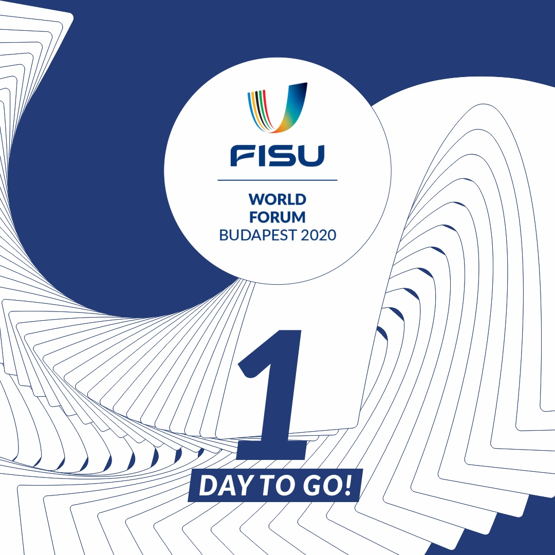 #FISUWorldForum kicks off tomorrow. Opening ceremony starts at 13:00 (CET). Get ready! 🎯👏✌️🎓🗣 @FISUWorldForum #FISU #universitysport #testnevelésiegyetem #MEFS #DJP https://t.co/x2RlO4uStt