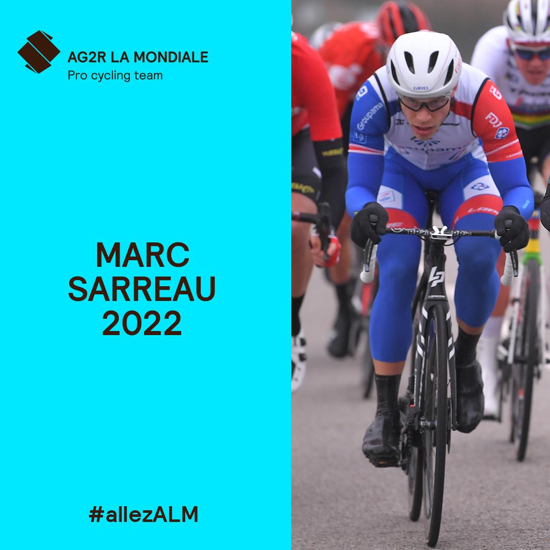 🚨En 2021, 1 nouvelle aventure débutera sous les couleurs d'@AG2RLMCyclisme Citroën!  Un merci tout particulier à mon équipe @GroupamaFDJ pour leur confiance depuis 6 ans. Pour le moment, l'h est aux soins avant de penser à la suite de cette saison, décidément particulière...