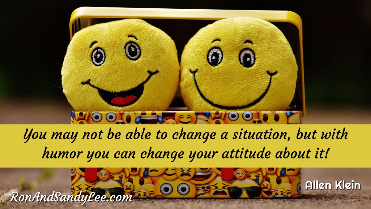 """""""You may not be able to change a situation, but with humor you can change your attitude about it"""" - Allen Klein Often, it's all in how you look at something!  #entrepreneurgoals #onlinebiz #brandedcontentpic.twitter.com/EbQ4GY0I6P"""