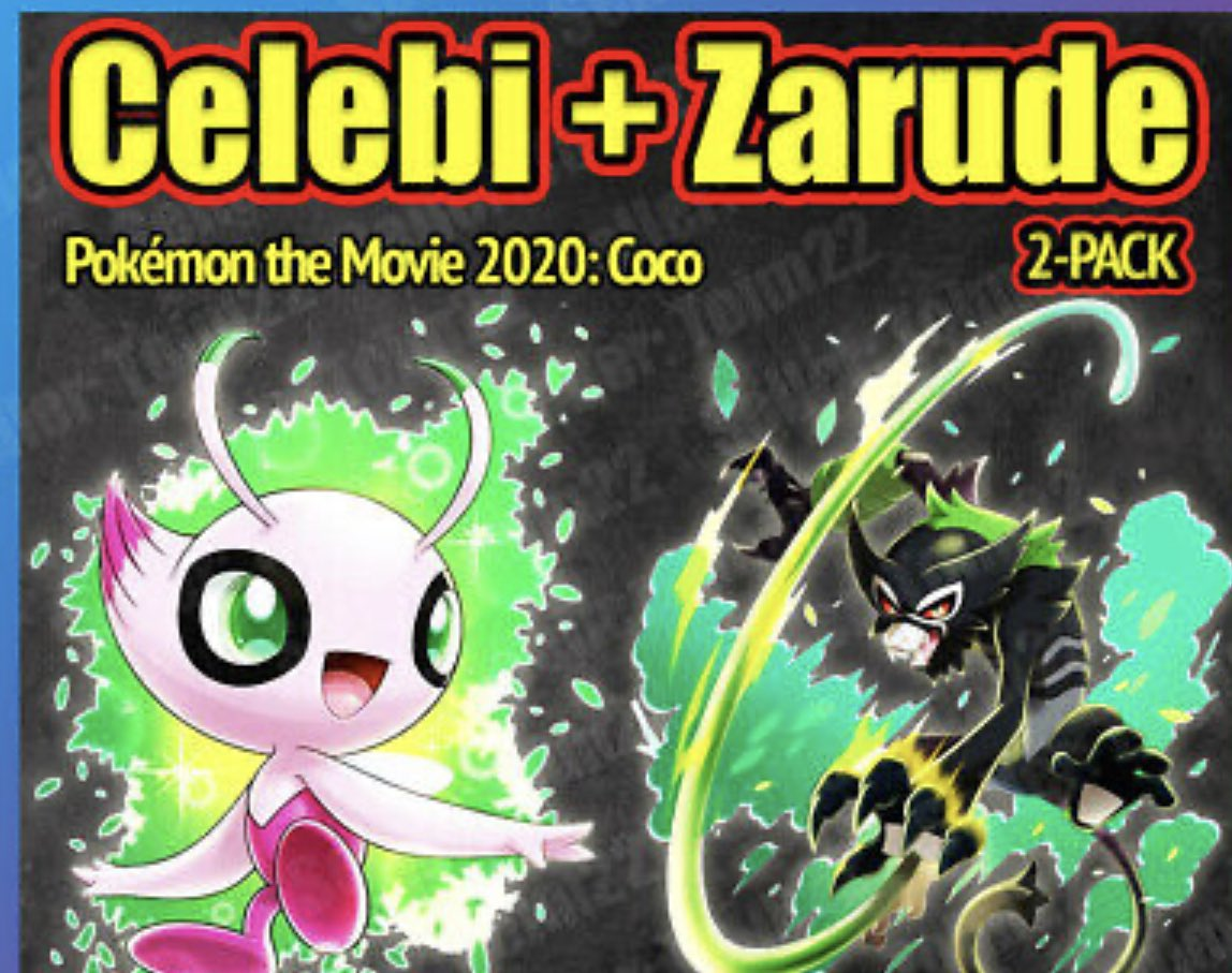Saturday I will be doing a giveaway for shiny celebi and a non shiny zarude make sure you follow me before Saturday #PokemonSwordandShield #gamer #SupportSmallStreamers #pokemonpic.twitter.com/iuN9IfK9Ig