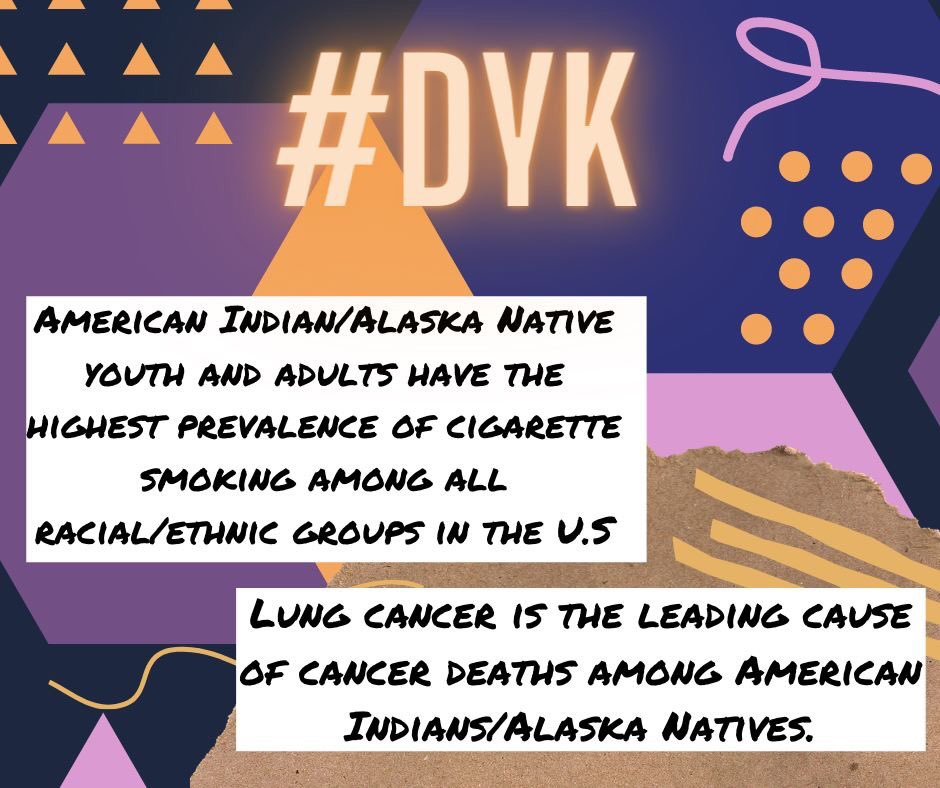 #DYK American Indians & Alaska Natives have the highest prevalence of cigarette smoking compared to other racial/ethnic groups in the US?  @truthinitiative shows how Big Tobacco targets AIAN communities, leading to higher rates.   @AICAF_Org has strategies to #KeepItSacredpic.twitter.com/Yl4sedfycc