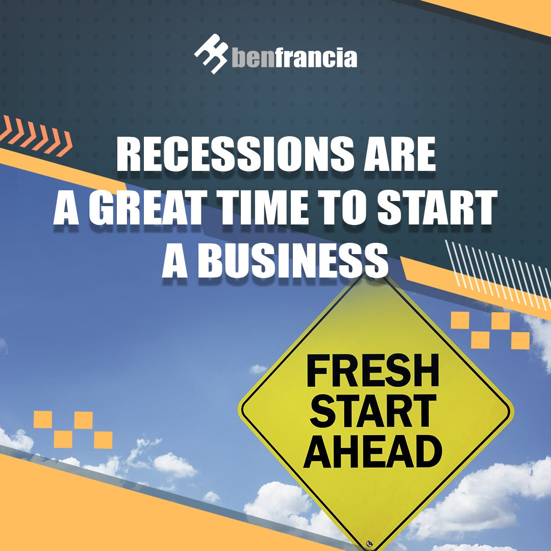 Big businesses like General Electric, IBM, Disney and Microsoft all have one thing in common - they started during a recession. If you plan to start a business, now would be the best time.   Learn more here: https://t.co/yi4EjzASGv  #DigitalMarketing #digitalmarketingtips https://t.co/AounGYonca