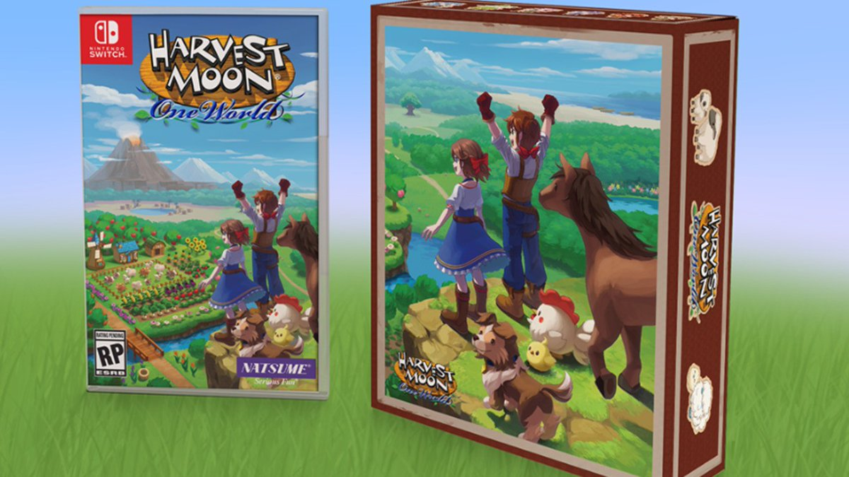Embrace Farm Life With This Harvest Moon: One World Limited Edition For Nintendo Switch https://www.nintendolife.com/news/2020/08/embrace_farm_life_with_this_harvest_moon_one_world_limited_edition_for_nintendo_switch… #NintendoSwitch #UpcomingReleases pic.twitter.com/FXvMbj7s6J