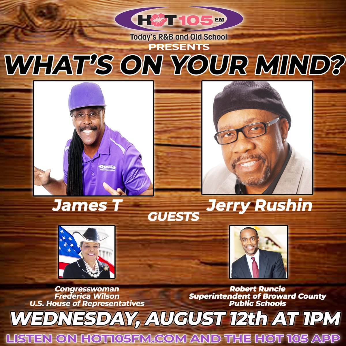 Hot 105 On Twitter Will Your Child Attend School Virtually Or Are They Attending Face To Face Classes Don T Miss This Important Conversation The Hotline Number Is 888 550 9105 Jamest Jerryrushin Congresswomanfredericawilson Robertruncie