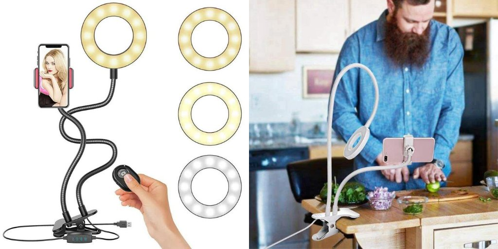 https://shop.gazibo.com/2PHMhOB  A must have for all Vloggers! Ring Light for cellphone for taking High Quality Photos and Videos with your cell phone.  #selfie #ringlight #phoneholder #phoneaccessories #gadgets #flashring #vlogging #vloggers #instatech #techy #onlineshippingpic.twitter.com/0AF06fWo9U