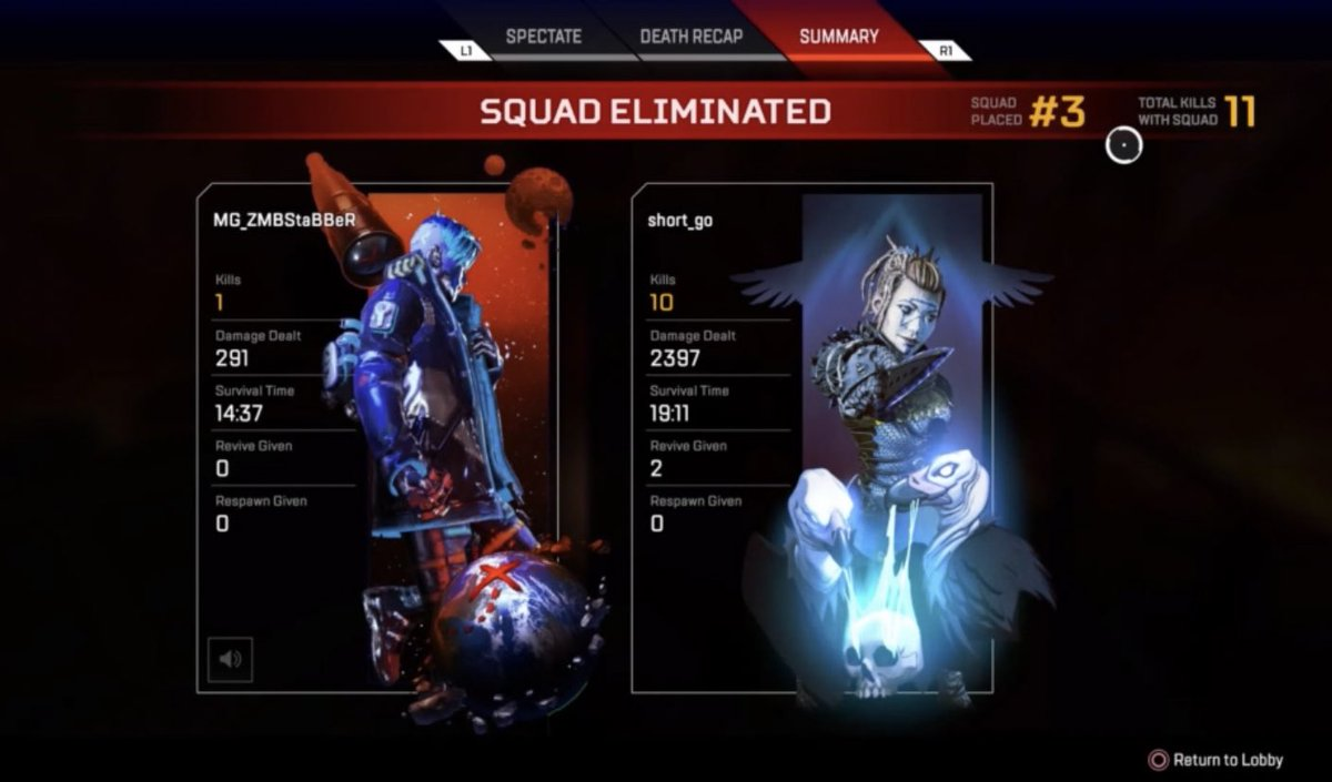 Not a bad match. I was feeling it tonight, God Mode in effect. Use code shortgo at checkout at http://mypyre.com  for 10% off your order and tear up the lobbies. @CeoPyre @pyre_gaming #ApexLegends #apexlegendscommunity #apexlegendsps4 pic.twitter.com/H64eJcycLp