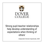 Always thinking of others.  #independentschool #Kent #thinkdifferently #thinkdovercollege