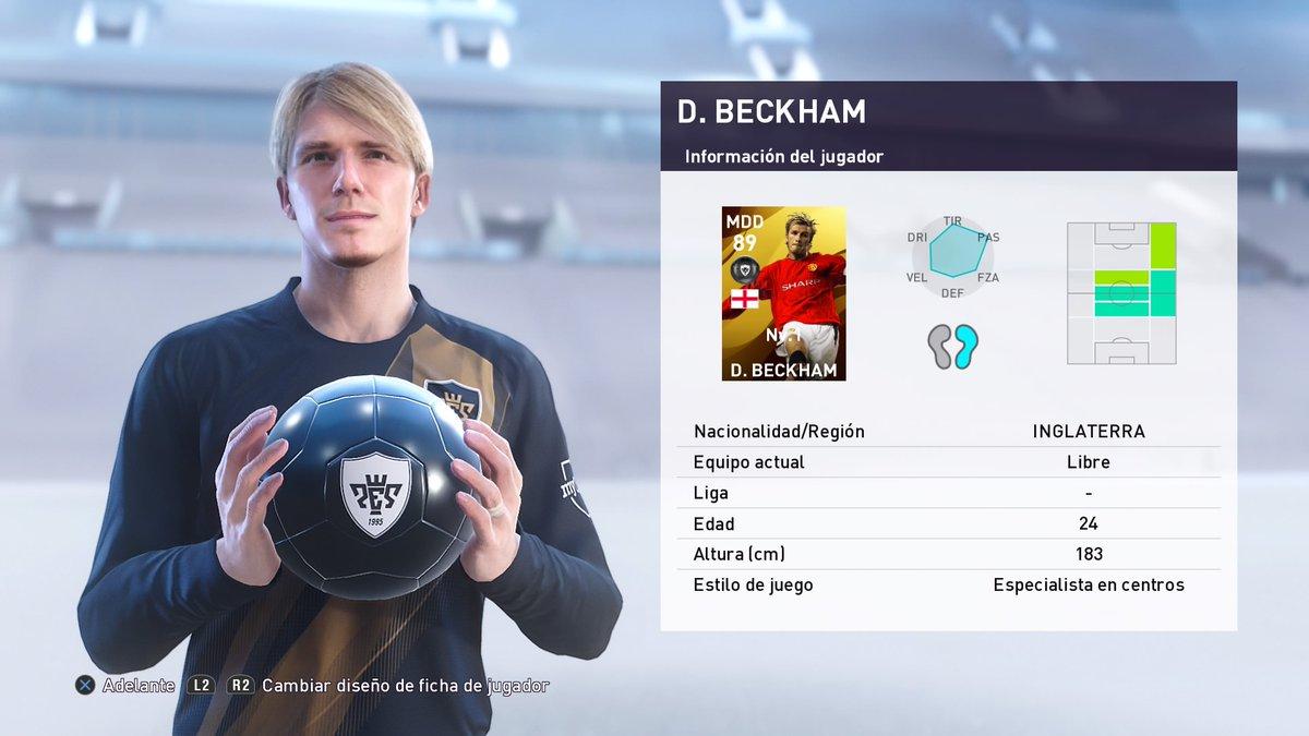 Another #SpiceBoy #Beckham #myClub #PES2020 #DarizFC #PS4share https://t.co/9bnZyxwCEA