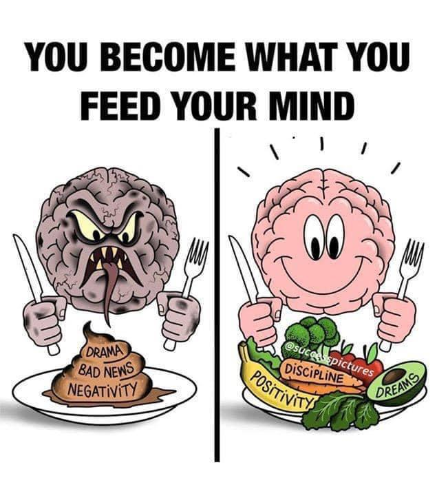 What are you feeding your mind today ? https://t.co/J6OOGJL6pj