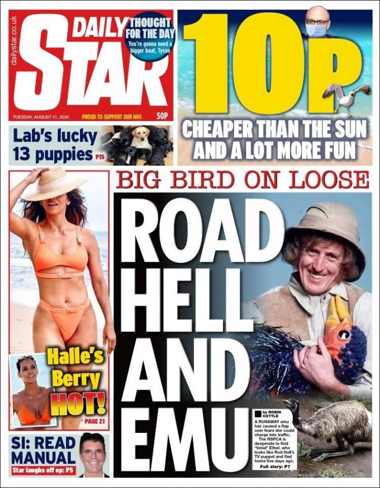 https://t.co/58Wa3aftlx #DailyStar #Daily #Star #News #Newspaper #England #UE #Europe #USA #Trump #UK #London #People #Queen #Coronavirus #Covid19 #BorisJohnson #PrinceWilliam #Epstein #Sunak #PrinceAndrew #Maxwell #SimonCowell #KanyeWest #KimKardashian #Maddie #LewisHamilton #F1 https://t.co/hVVfv4cm99