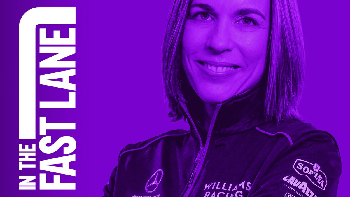 New podcast episode! 🎧 Claire Williams is this week's special guest on In the Fast Lane. Listen: https://t.co/60eLPejApK #F1 @WilliamsRacing https://t.co/0FFRda62X0