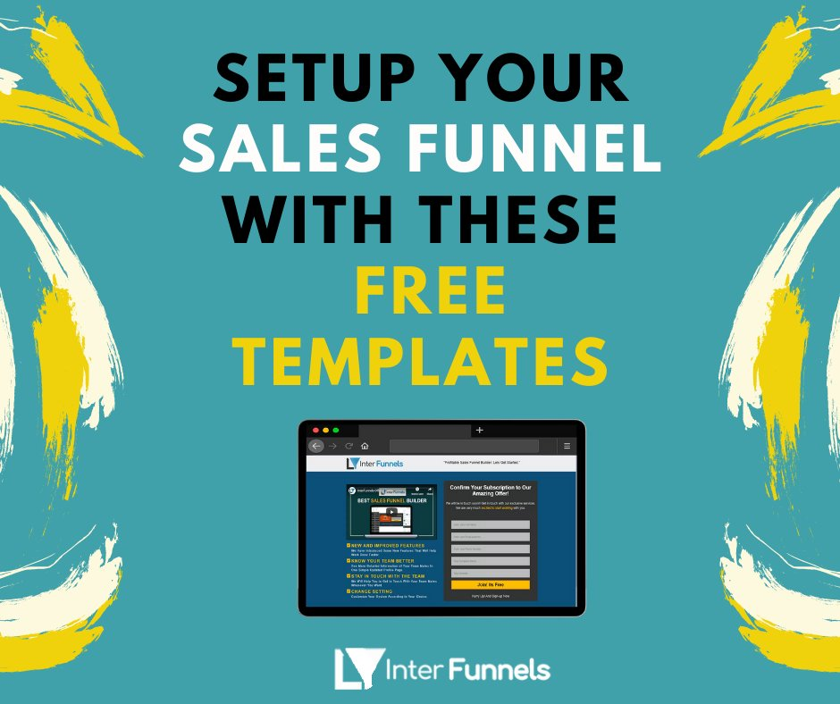Set up your sales funnel with these free templates. Interfunnels gives you free opt-in templates. . . . #onlinemarketing #salesfunnel #salesfunnelsupport #marketingtips #socialmediamarketing #emailmarketing #emailmarketingtips #funnel #successtip #salesfunnelsecrets #salesfunnelspic.twitter.com/Fx4NybUik8