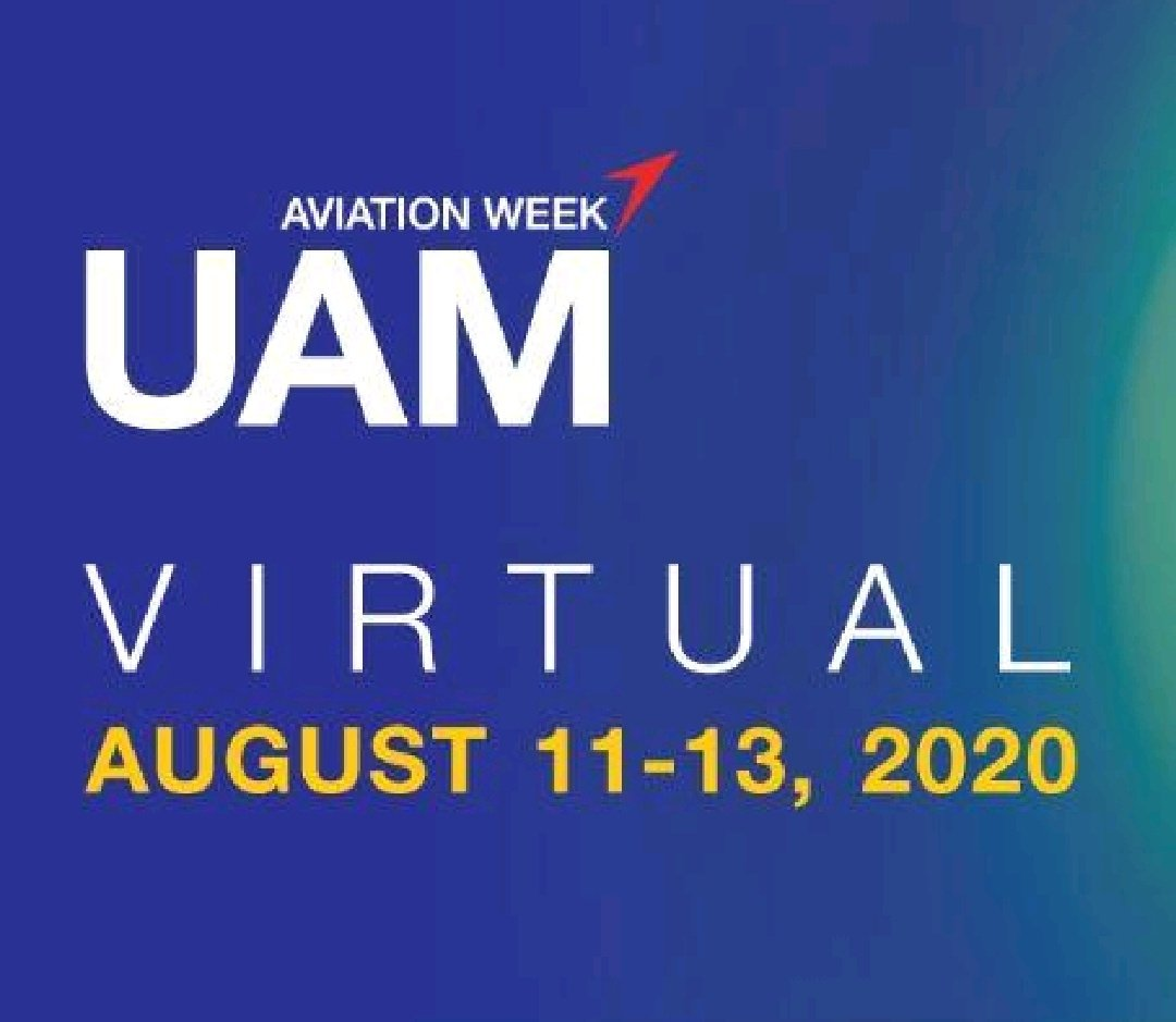 The Urban Air Mobility 2020 virtual event has just begun!   Join it:  https://lnkd.in/gNNYkXW  #UAM #event pic.twitter.com/KlaLEeNXDR