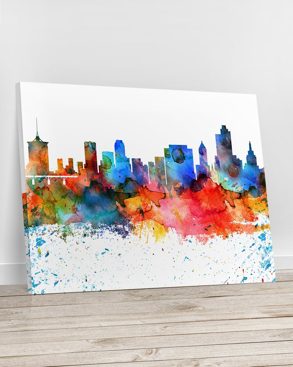 Excited to share the latest addition to my #etsy shop: Tulsa Canvas, skyline canvas print, canvas wall art, https://etsy.me/2F60cMk  #canvasart #canvasprint #wallartcanvas #tulsaskyline #tulsacanvas #cityart #travelgift  https://www.etsy.com/shop/ArtPrintCanvas …pic.twitter.com/55VNgeNvvT