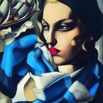 Image for the Tweet beginning: Polish painter Tamara de Lempicka,