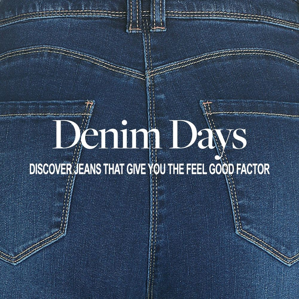 Introducing our brand new collection, Feel Good #Denim! 👖  We've designed this range to ensure that there's a perfect fit for all sizes, whilst also being great value for money. Discover the full collection today: https://t.co/NSHyZU1wSQ ⭐️ https://t.co/vQZoxg4XuU