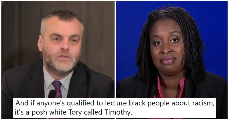 A rich white Tory disputed Dawn Butler's experience of racism and these 9 takedowns were spectacular. https://t.co/S3KHQev8KG https://t.co/pMN5CT99QS
