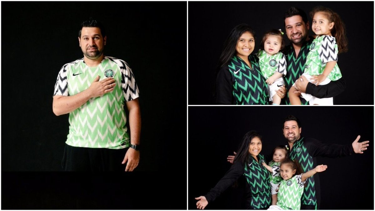 Nigeria's 2018 world cup jersey made history by becoming not only a best selling kit [3.5 million] around the world , but beating Manchester United (2.9m), Real Madrid [2.3m] , Barcelona [ 1.9m], Chelsea [ 1.6m] and Arsenal [1.2 million] in sales world over. pic.twitter.com/X19vVWHXJp