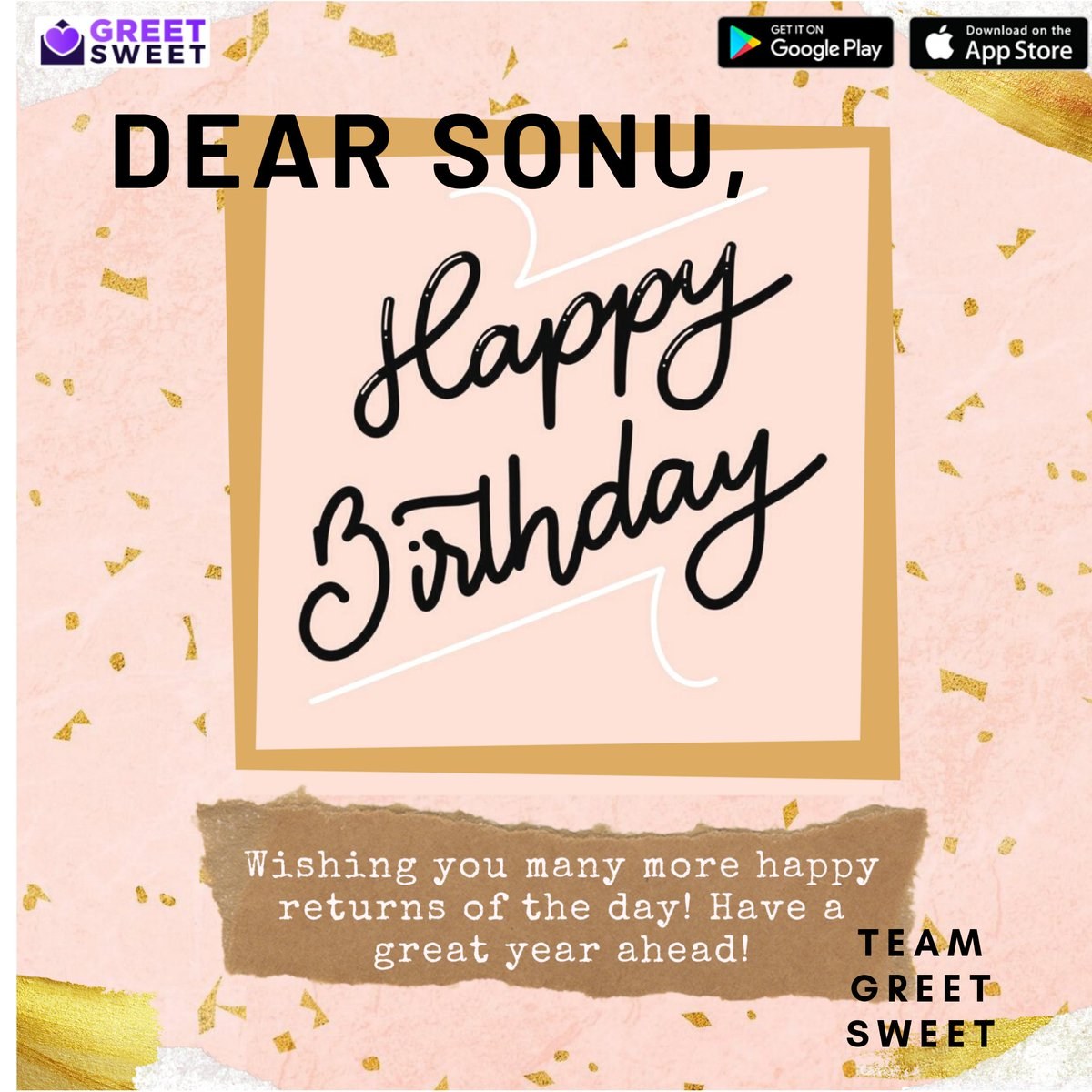 Happy Birthday to the Nightingale @SonuKakkar . Have a year filled with songs and success!! #sonukakkar #birthday #Singer  Create your greetings via @GreetSweetApp app.pic.twitter.com/bIFtuIiY5c