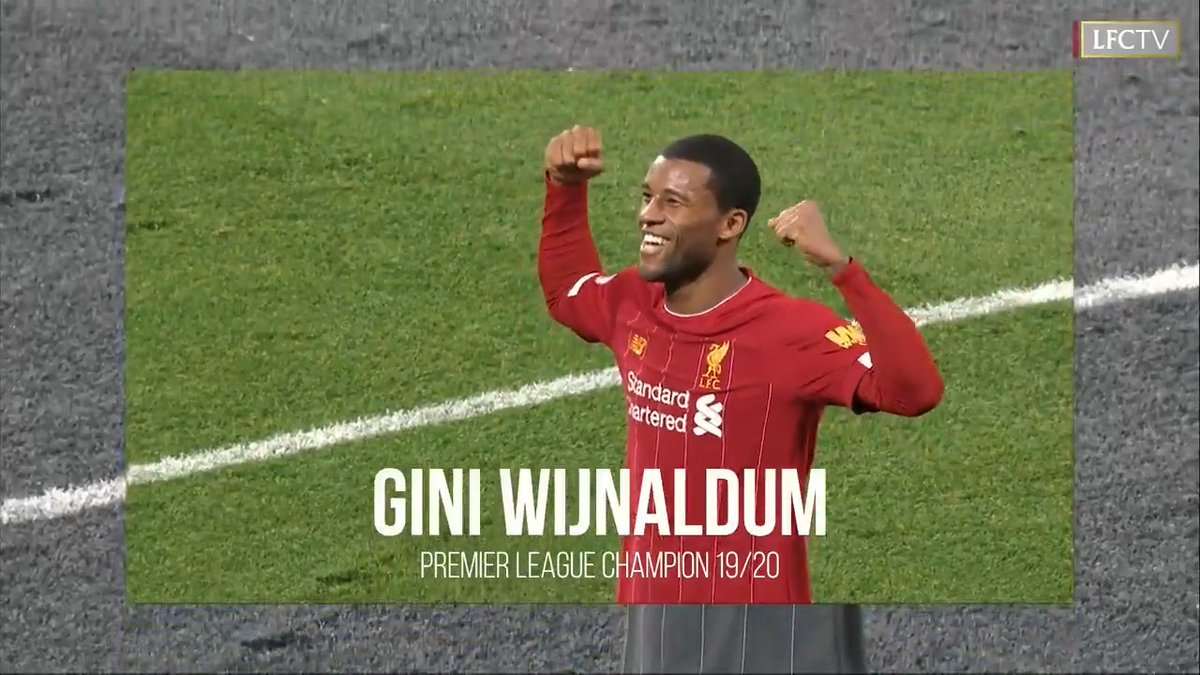 🤩 G I N I 🤩  It was another super season, @GWijnaldum 👌 https://t.co/fwjtN6Zr1x
