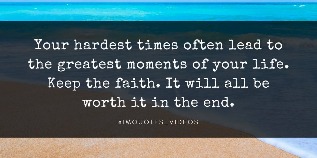 Keep The Faith.   #TuesdayMotivation pic.twitter.com/Ah2v2rQv6G #Motivation #Personal Growth