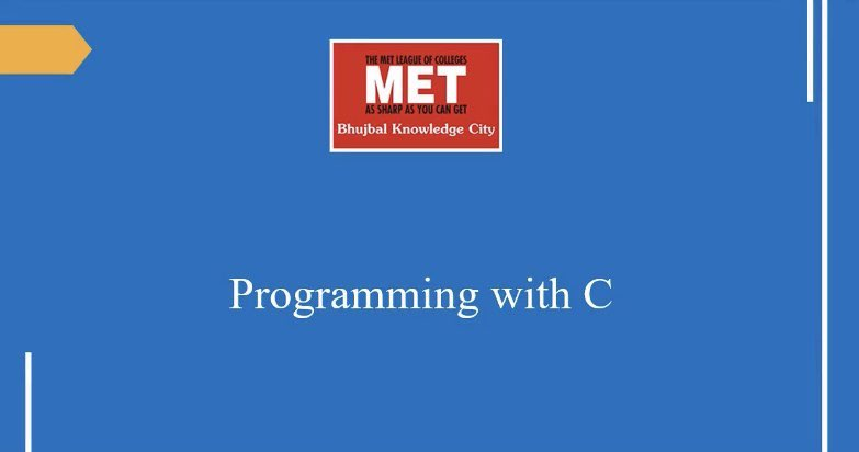 #CProgramming: This session by Prof. Mandge, Course Coordinator - MET #Institute of #ComputerScience describes the features & uses of the pointer with an in-depth explanation of pointer creation and manipulation. http://youtu.be/yNs3jIZPXcs #programmingpic.twitter.com/A5cRhop6XQ