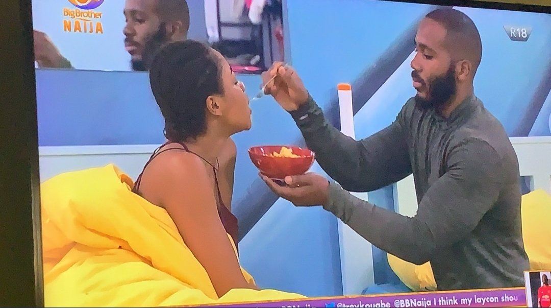 When all odds are against you, God will provide a Kiddwaya to love and support you. There's no better support than that of a billionaire kidd who doubles as the only alpha male in the house. Erica is lucky and blessed. #BBNaija #kiddrica #KiddErica   #KiddEricapic.twitter.com/b5ci7mwQ58