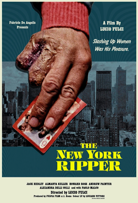 The New York Ripper (1982) Lucio Fulci  Without the charm of zombies or a portal to hell or a smart twist that makes a good giallo thriller Fulci's film is just a nasty exercise in sadistic violence.  #MovieReview pic.twitter.com/QygsBbpLsS