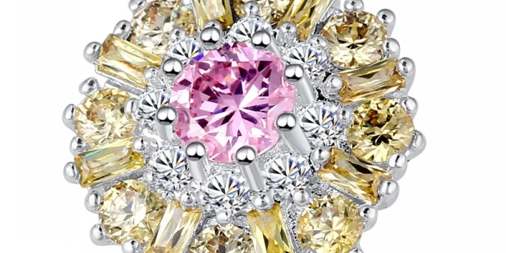 #glitter Flower Multi colour Stones Ring pic.twitter.com/hOwyl3xtMK