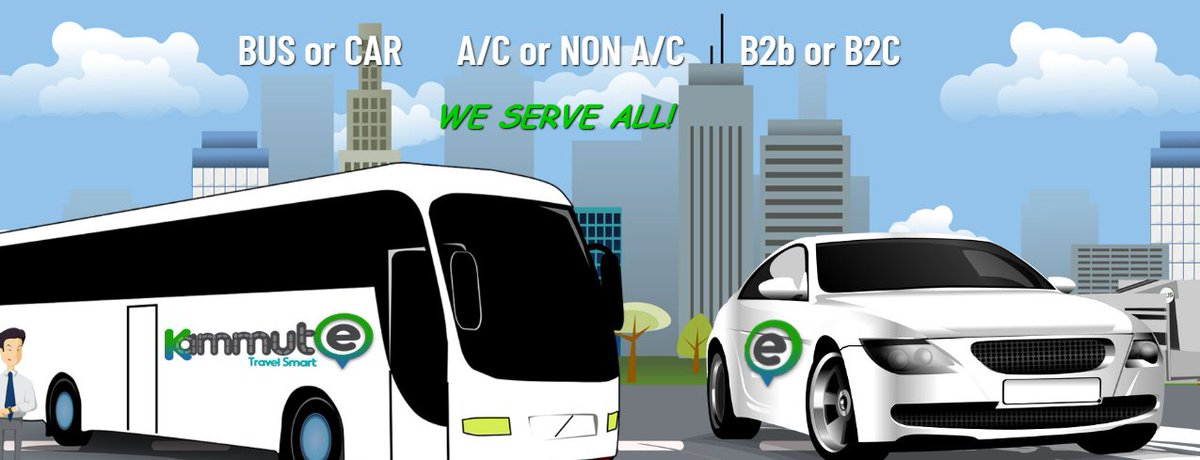 Kammute will also have the capability to deploy buses for the b2c bus travellers on their buses. Visit : https://www.kammute.com/  #cab #bus #travel #b2c #car #taxiservice #cabservicepic.twitter.com/og5DOlAhsa