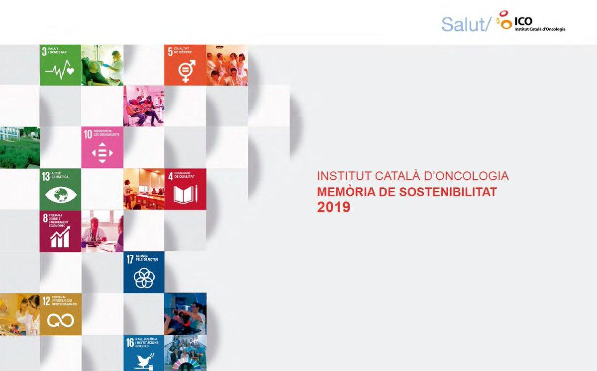 L'any 2019 l'#ICO va alinear els objectius del nou Pla Estratègic 2019-2022 amb els objectius #ODS de l'Agenda 2030, tal com podreu consultar a la #memòria de #sostenibilitat que avui us presentem: https://t.co/MsxtaDxLx6 https://t.co/MK5AGtVyP0
