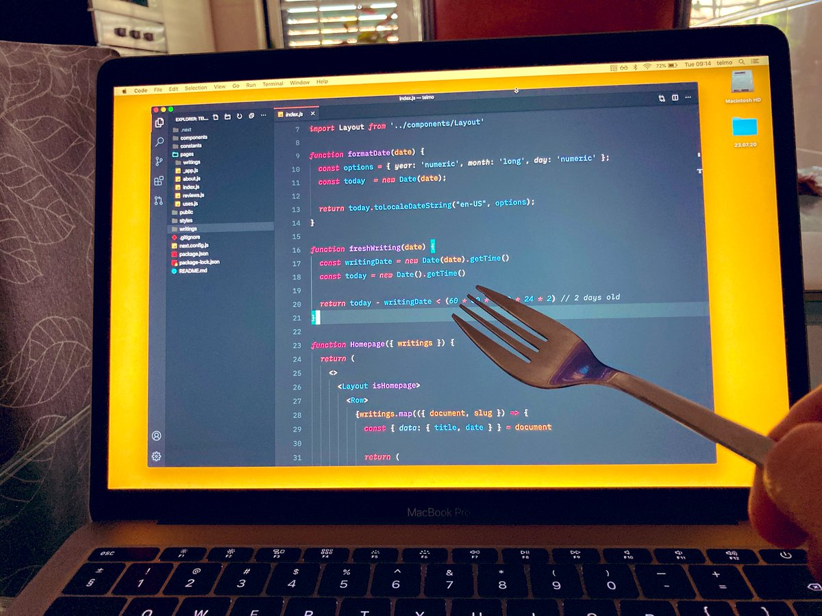 *Disclaimer: this method only works for spaghetti code.
